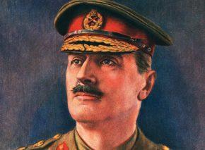 הגנרל אלנבי. ציורו של הנרי וולטר ברנט, סביבות 1920