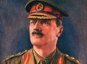 General Allenby in an oil by Henry Walter Barnet circa 1920