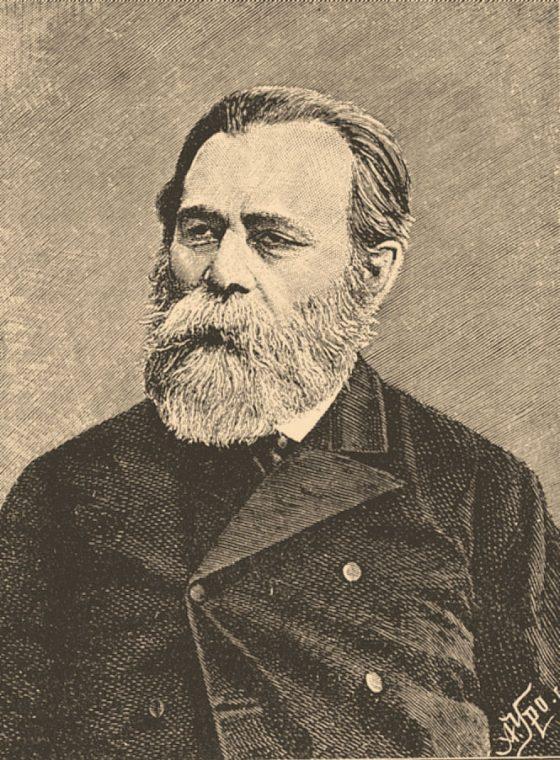 Leon Pinsker, illustration from the Jewish Encyclopedia