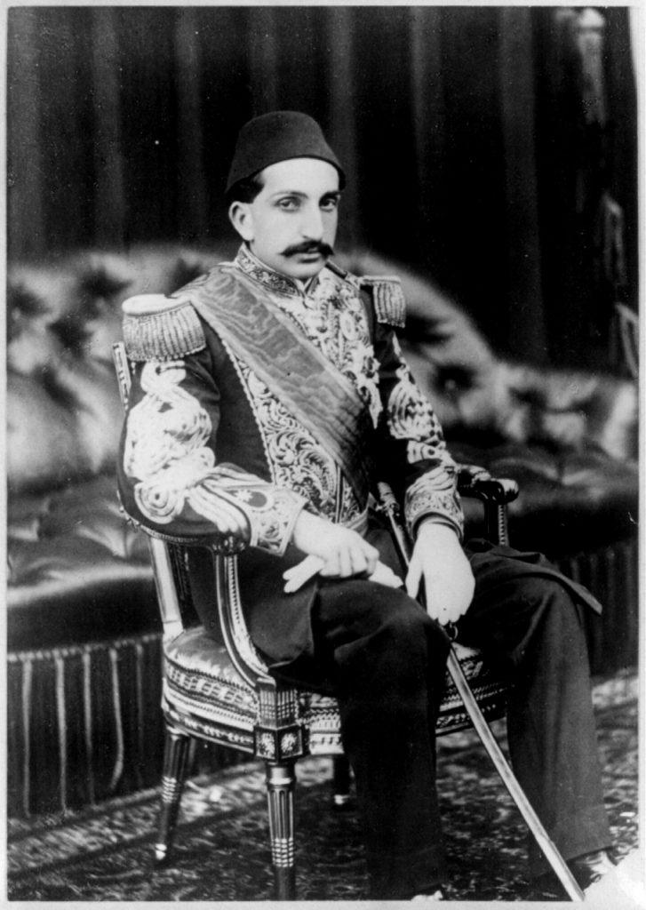 Ottoman sultan Abdul Hamid II