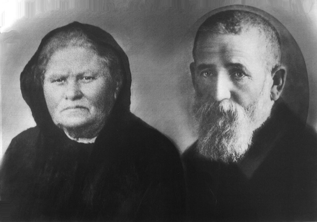 ההורים אפרים פישל ומלכה אהרנסון, ראשית המאה העשרים