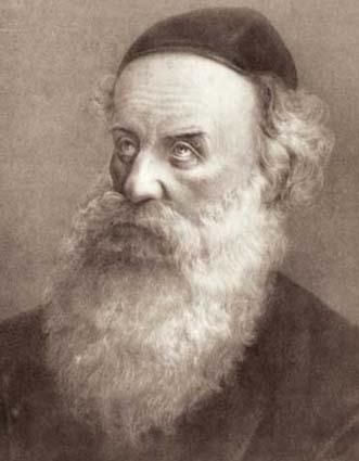 Portrait of the Alter Rebbe, Rabbi Schneur Zalman of Liadi