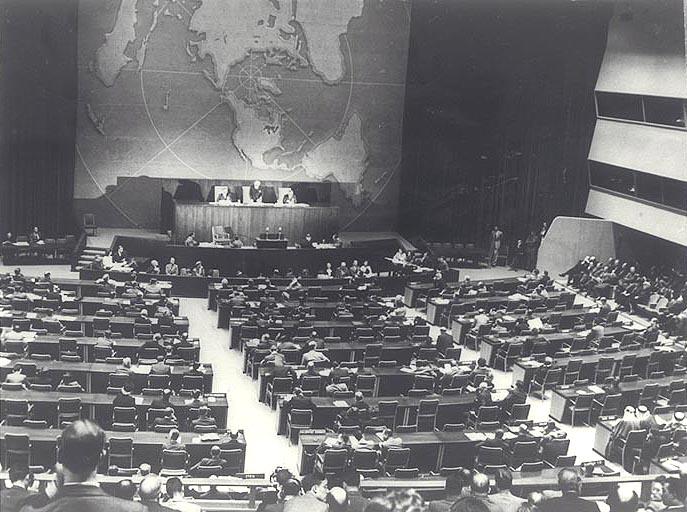 """ההצבעה באו""""ם בכ""""ט בנובמבר"""