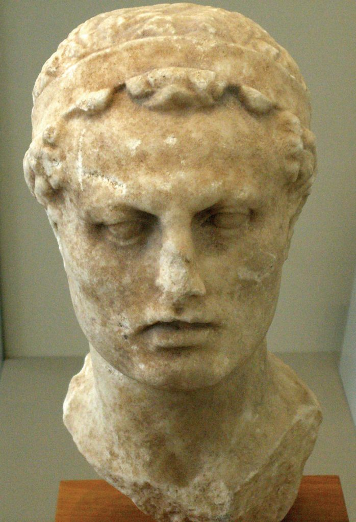 Bust of Antiochus IV Epiphanes, from the Altes Museum in Berlin