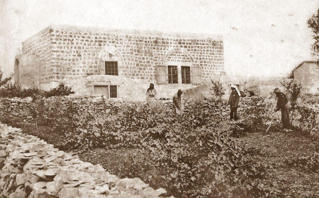 בית פין בכרם אברהם במאה ה־19