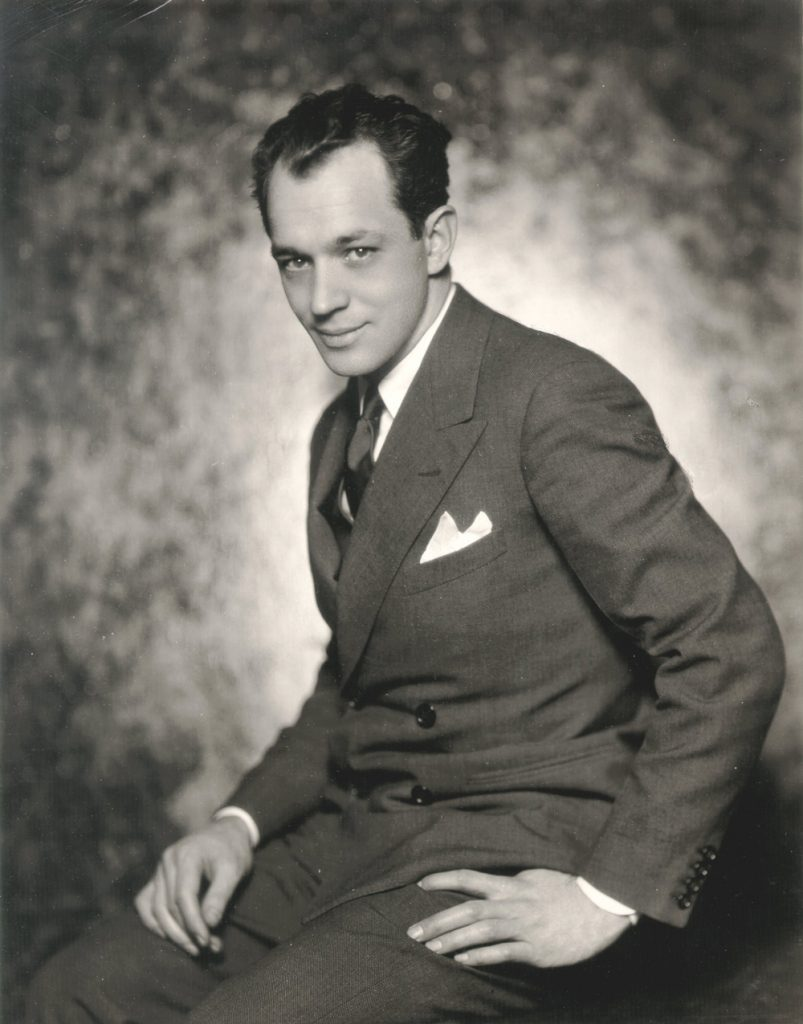 Scriptwriter Charles Macarthur, Hecht's friend and cowriter at the beginning of his cinema career