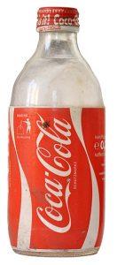 בקבוק קוקה קולה 1954