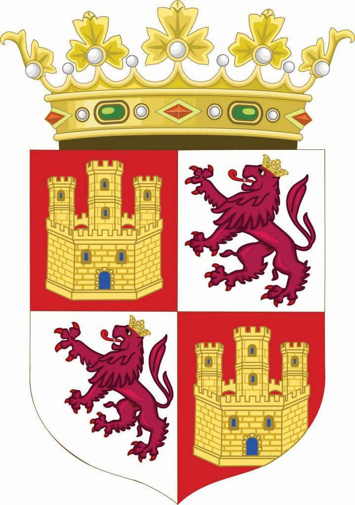 נולד למשפחה שמקורה בקסטיליה ונדד לאורך אגן הים התיכון. סמל ממלכת קסטיליה