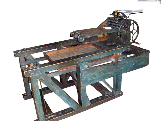 Matza-shaping machine from the Lvov Museum of the History of Religion, early 20th century