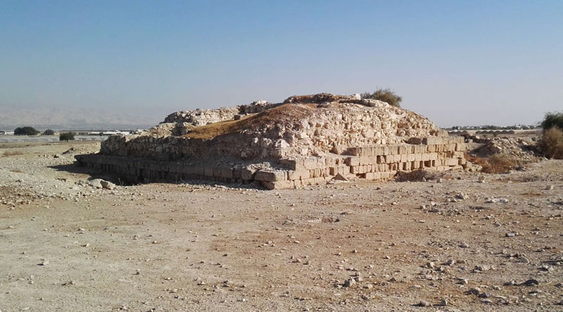 Here today, gone tomorrow? Remnants of Archelais' Herodian tower