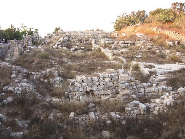 שומרון: שרידי ארמון אחאב מימי בית ראשון
