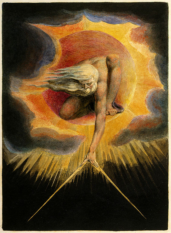 Painting by William Blake, 1794