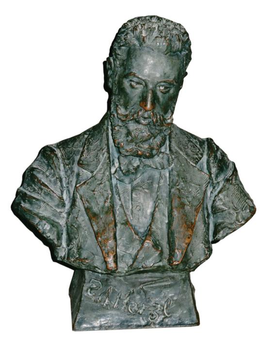 בעת הישיבה מול שמואל פרידריך־ביר שפיסל את דמותו דיברו השניים על כישלון ההשתלבות. הפסל שנוצר באותה שיחה