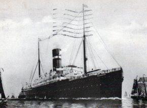 ספינת מהגרים בקו הולנד ניו יורק שרבות כדוגמתה הביאו יהודים מהיבשת הישנה לאמריקה