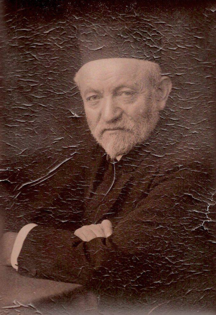 A rare portrait of Sender Jarmulowsky, circa 1905