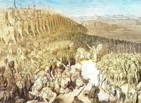 יהודה המקבי לפני הקרב עם ניקנור