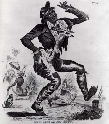 Poster advertising Tom Rice's performance as the comic character Jim Crow, 1832