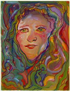 נישואיו של אביה לפאולה לוי העניקו לשרלוטה דמות אם בריאה וחמה. שרלוטה אהבה את פאולה מאוד והרבתה לצייר אותה