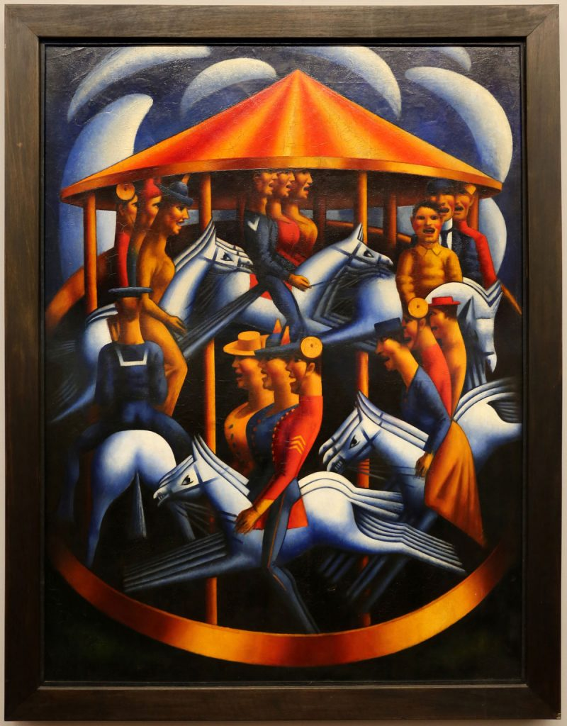 Mark Gertler, Merry-Go-Round, 1916,