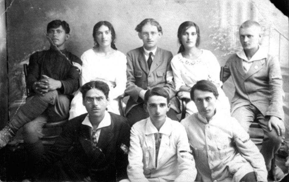 כתב על הפגישה בהתרגשות. דוד בנבנישתי במרכז אגודת המשוטטים