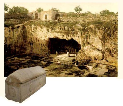 איזטס מלך חדייב שבארמניה ואמו הלני המלכה היו ליהודים והם קבורים בירושלים. קברי המלכים בצילום מהמאה ה-19, וארון הקבורה של הלני המלכה המוצג במוזאון ישראל