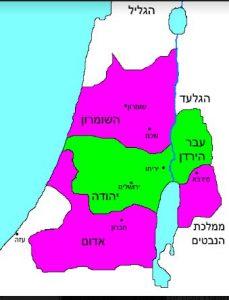כיבוש שטחים נוספים בארץ ישראל העמיד את החשמונאים בפני השאלה האם לראות את התושבים שנכבשו כחלק מהממלכה היהודית. יוחנן הורקנוס, איור מ-1553