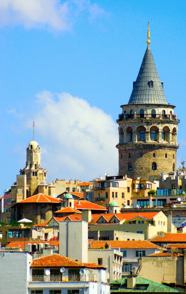 The Galatta Tower, already a landmark of Istanbul when Shabbetai Tzvi visited the city, was built in the 14th century