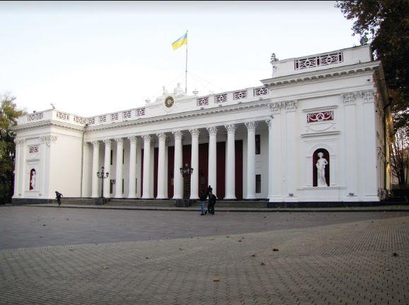 עיריית אודסה עברה ב-1899 לבניין הבורסה המפואר שנבנה בשנים 1828-1834