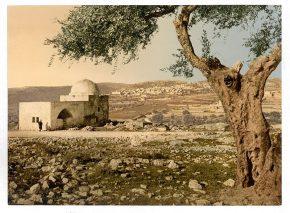 'קבר רחל', סביב 1890