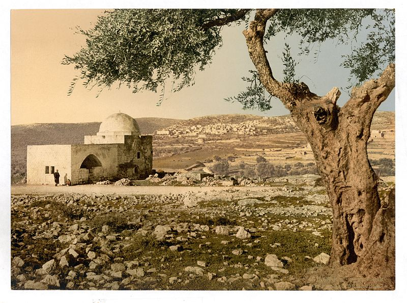 Rachel's Tomb on the outskirts of Bethlehem, circa1890