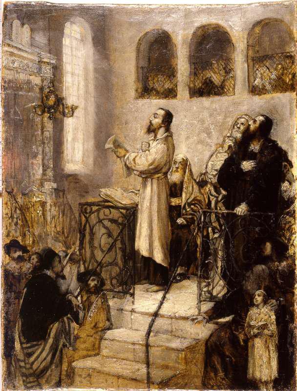 אוריאל דה קוסטה בבית הכנסת