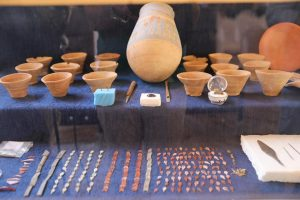 ממצאים מהסדנאות בלוקסור