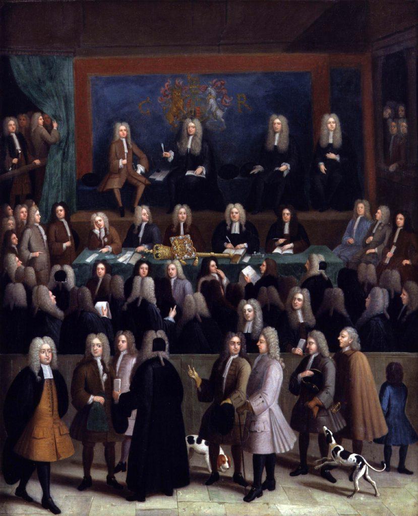 בזכות מעמדו של דה מדינה נדחתה האפשרות לפסול את עדותו בפני בית המשפט בשל היותו יהודי. בית הדין בצ'נסרי, בנג'מין פררס, תחילת המאה ה-18