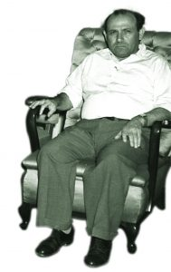 Israel's undercover authorities saw Lipshitz as a loyal agent of their cause. Shaul Avigur, founding director of Nativ, 1949