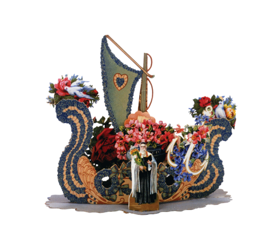 Sailing into the new year with flowers and emblems of the Jewish life-cycle